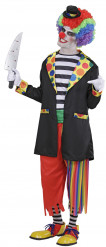 Verkleedkostuum Stoute clown voor heren Halloween