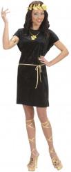 Zwarte Romeinse outfit voor vrouwen