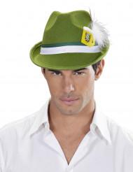 Groene Beierse hoed voor volwassenen