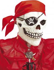 Integraalmasker voor volwassenen skelet piraat Halloween accessoire