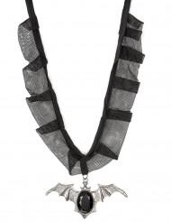 Halsband vleermuis voor volwassenen Halloween accessoire