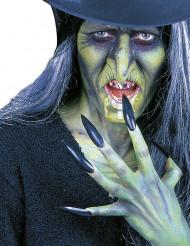 Nep nagelszwart voor volwassenen Halloween accessoire