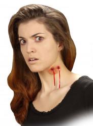Nep wond vampier beet voor volwassenen Halloween make up