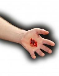 Valse wond door kogelschot voor volwassenen Halloween