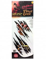 Vloerversiering Freddy Krueger™ Halloween decoratie