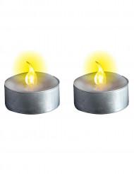 Lichtgevende kaarsen op batterijen Halloween versiering
