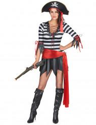 Verkleedpak piraat voor dames