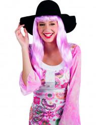 Zwart zomerse hoed voor vrouwen