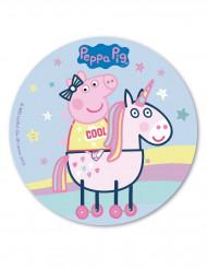 Peppa Pig™ eetbare taartdecoratie