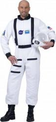 Witte astronaut kostuum voor volwassenen