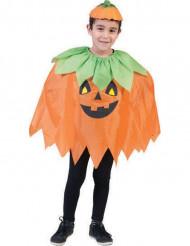 Pompoen poncho voor kinderen Halloween
