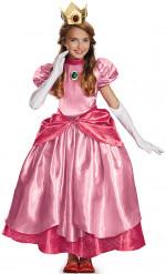 Luxe kostuum van Prinses Peach™ voor meisjes