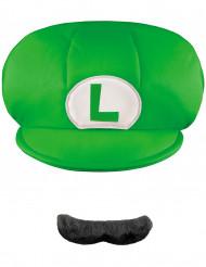 Luigi's™  pet en snor voor kinderen