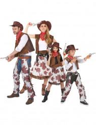 Cowboy familie kostuums