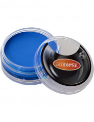 Blauwe schmink op waterbasis