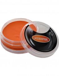 Oranje schmink op waterbasis