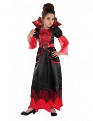 Verkleedkostuum vampier voor meisjes Halloween