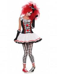 Harlekijn clownskostuum voor tieners