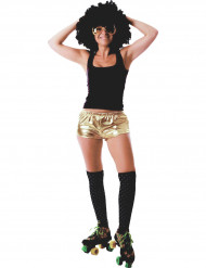 Glimmend goudkleurig disco broekje voor dames