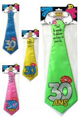 Grappige stropdas 30 jaar
