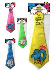 Humoristische 40 jaar stropdas
