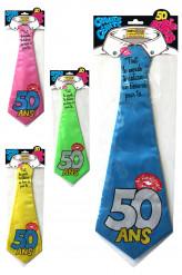 Humoristische 50 jaar stropdas