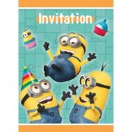 Set van uitnodigingen Despicable Me™