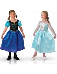 Duo verkleedpak van Anna en Elsa Frozen™ voor meisjes