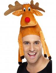 Rendier hoed voor volwassenen Kerst