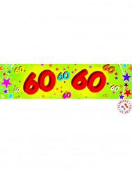 Papieren banner 60 jaar