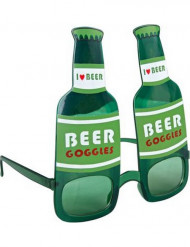 Bierflessen bril voor volwassenen