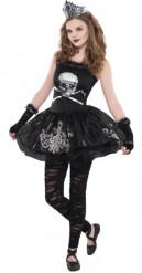 Duistere ballerina kostuum voor tieners