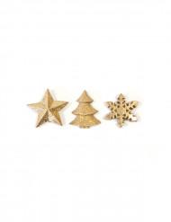 Goudkleurige kerst decoratie