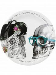 8 Skelet borden voor Halloween