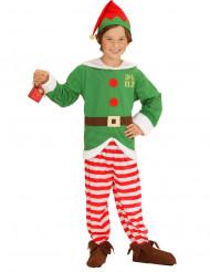 Kerst elf kostuum voor kinderen