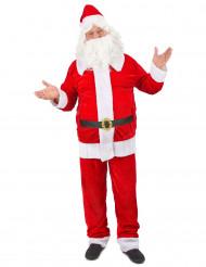 Luxe verkleedkostuum Kerstman voor heren