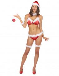 Kerstvrouw bikini kostuum voor vrouwen