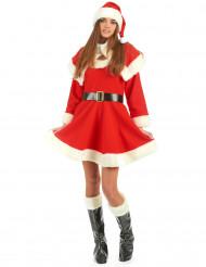 Luxe kerstvrouw kostuum voor vrouwen
