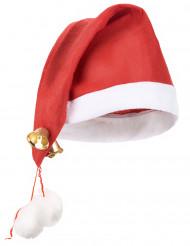 Kerstmuts met bel voor volwassenen
