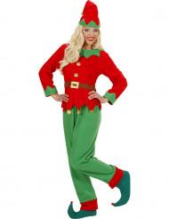 Verkleedpak Kerstman Elf voor dames
