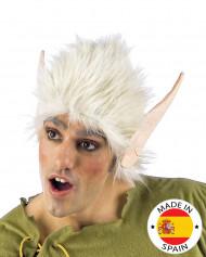 Witte pruik en elfenoren