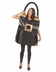 Zwarte handtas kostuum voor vrouwen