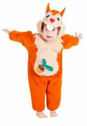 Eekhoornkostuum voor baby