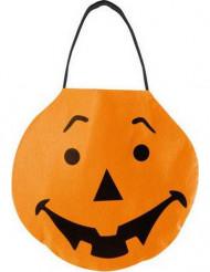 Halloween zak pompoen
