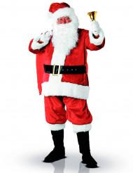 Deluxe kerstman kostuum voor volwassenen