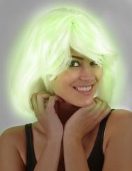Fosforescerende pruik voor vrouwen
