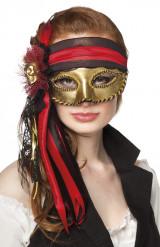 Venetiaans piratenmasker voor volwassenen