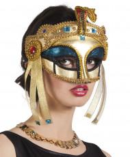 Egyptische koninginnenmasker voor vrouwen