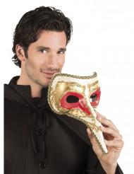 Venetiaans masker met lange neus voor mannen