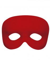Halfmasker rood voor volwassenen